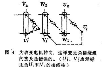 怎样改变三相异步电动机的转向?